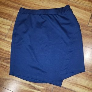 Navy Blue Skirt Urban Outfitters